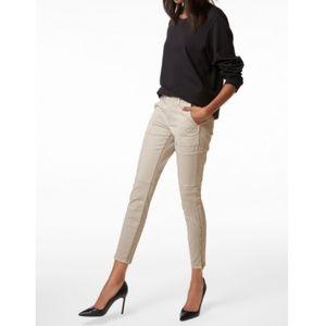 J Brand Skinny Jean Utility Pant In Driftwood
